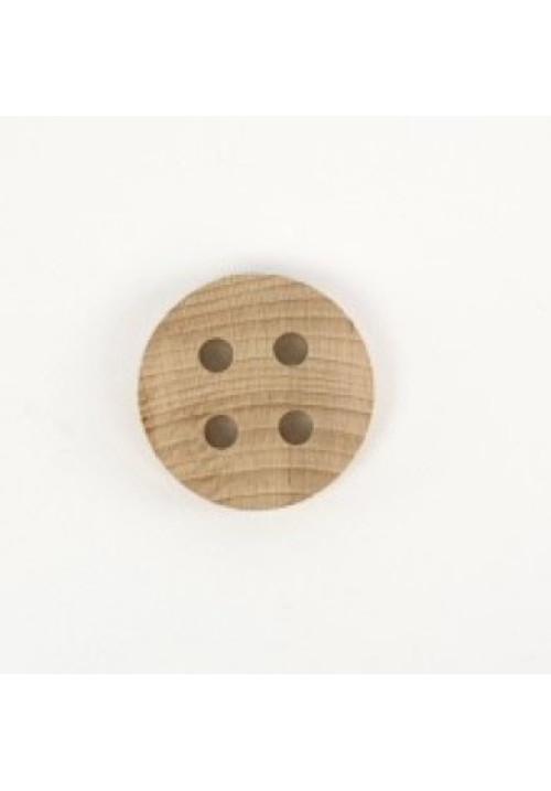 Botón madera grande