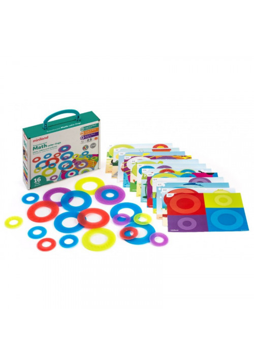 Anillos de colores Traslucidos - Matemáticas