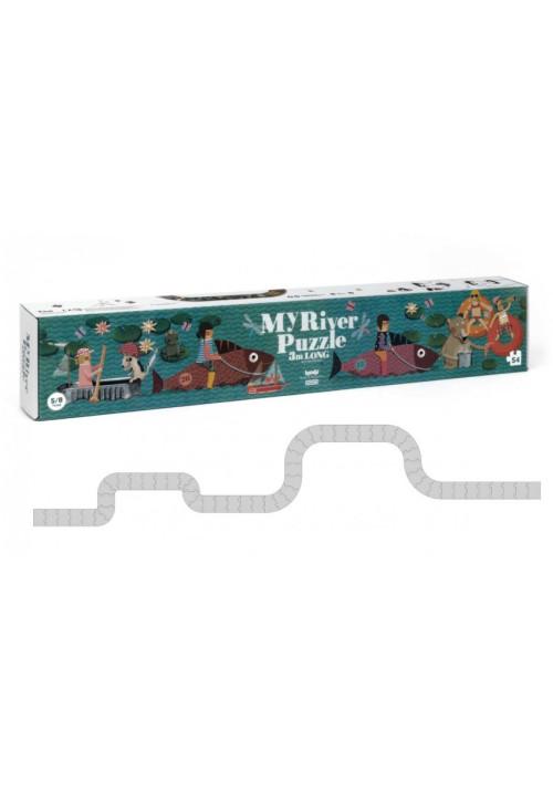 My river puzzle - 3m de largo