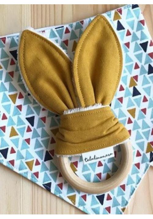 Mordedor orejas de conejo